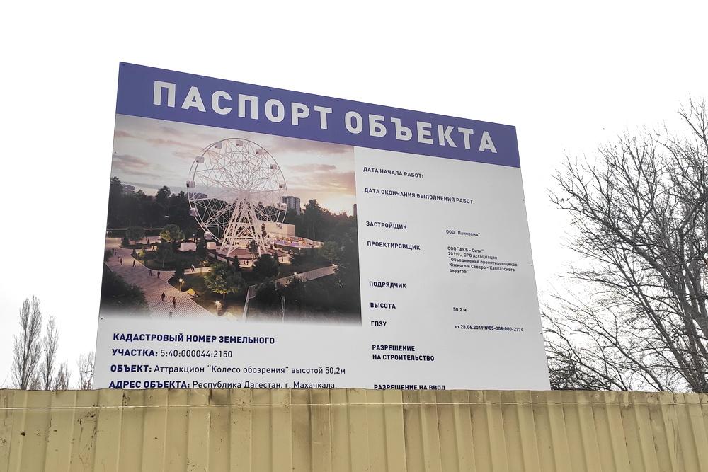 Чертово колесо с интересной «Панорамой»