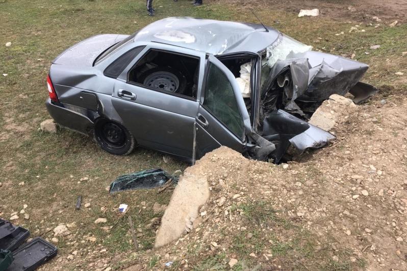 В автоаварии в районе Карабудахкента погиб водитель «Приоры»