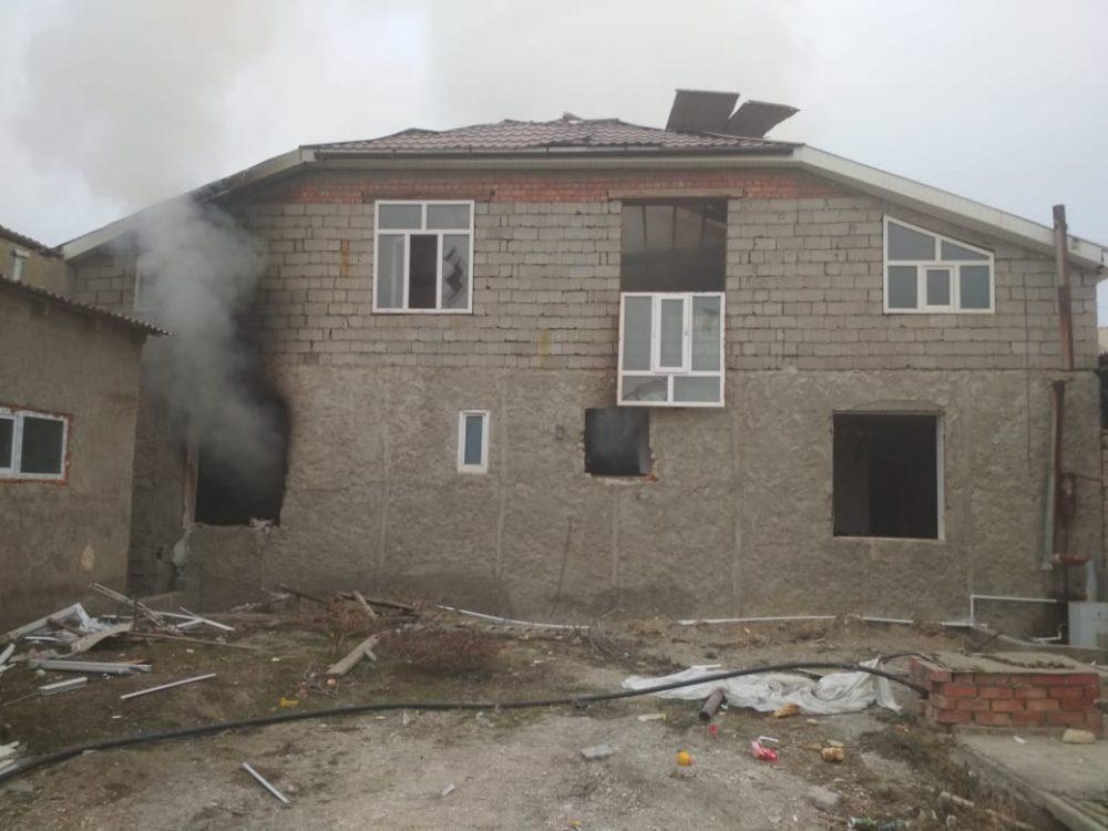 Двое взрослых и двое детей пострадали при хлопке газа в Карабудахкенте