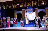 В Казбековском районе показали праздничное представление «Волшебство новогодних огоньков»