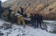 В Левашинском районе машина упала с обрыва: погибли три человека