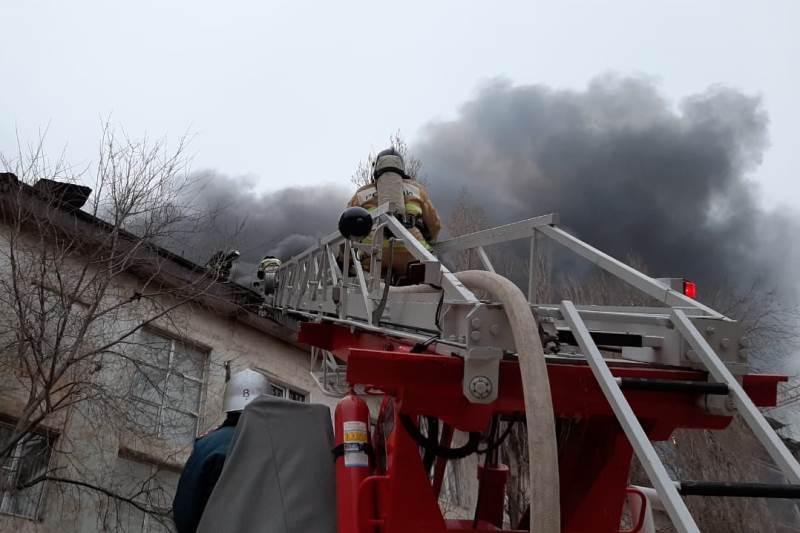 Пожар в Махачкале ликвидирован