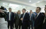Владимиру Васильеву и Игорю Сироткину презентовали молодежные проекты антитеррористической направленности
