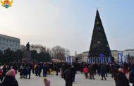 Новогодние празднования в Махачкале охватили более 150 тысяч человек