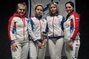 Айзанат Муртазаева в составе сборной России выиграла этап Кубка мира по фехтованию