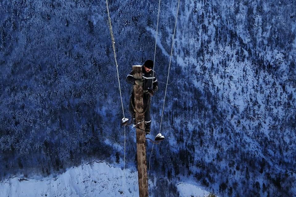 Энергетики полностью восстановили энергоснабжение в горах Дагестана и Махачкале