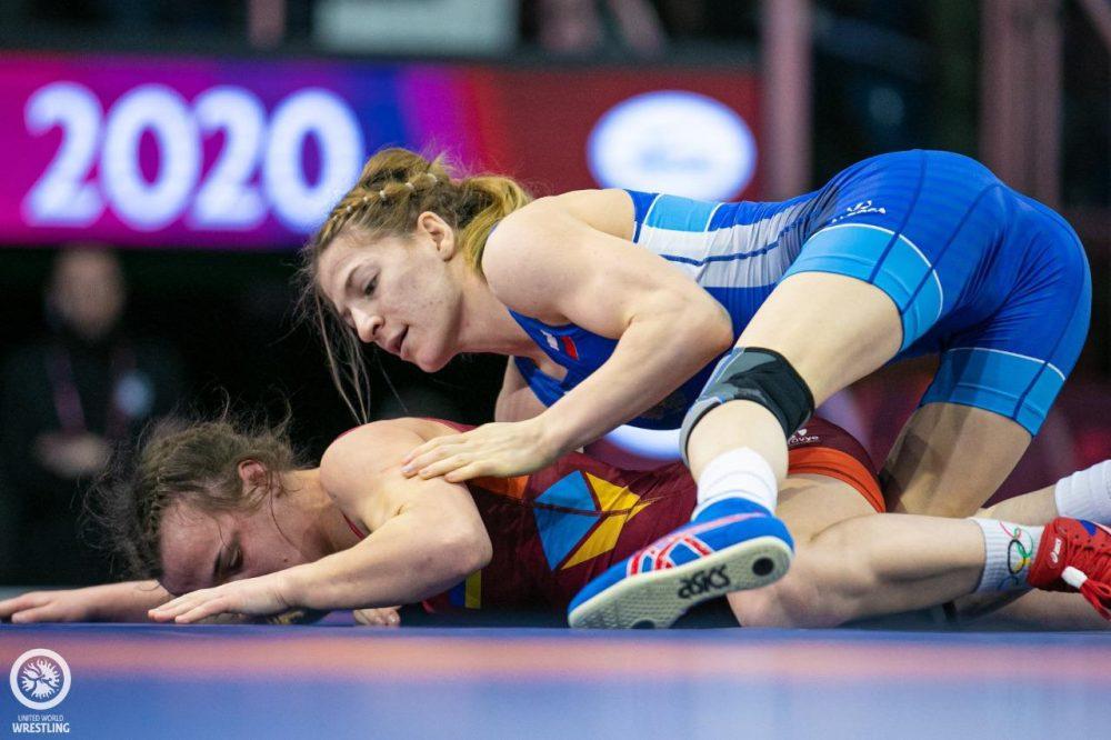 Милана Дадашева выиграла бронзу чемпионата Европы по борьбе
