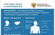 Минздрав России разработал памятку о коронавирусе