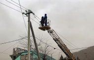 Энергоснабжение, прерванное в Дагестане из-за непогоды, восстановлено на 80%