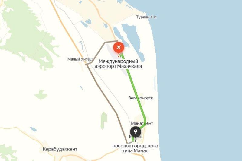 Минтранс Дагестана доведет до нормативов дорогу Манас – Зеленоморск – Аэропорт