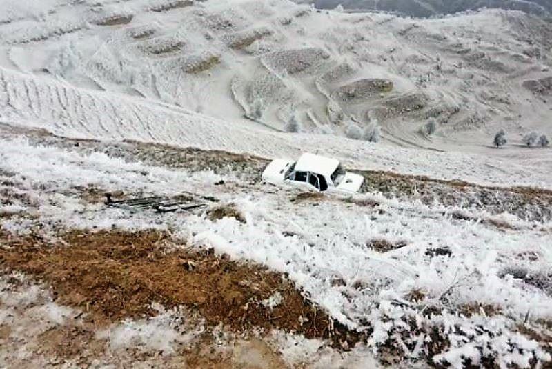 В Дахадаевском районе после падения машины с обрыва погиб пенсионер