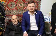 Салман Дадаев посетил ветерана Великой Отечественной войны Владимира Кека
