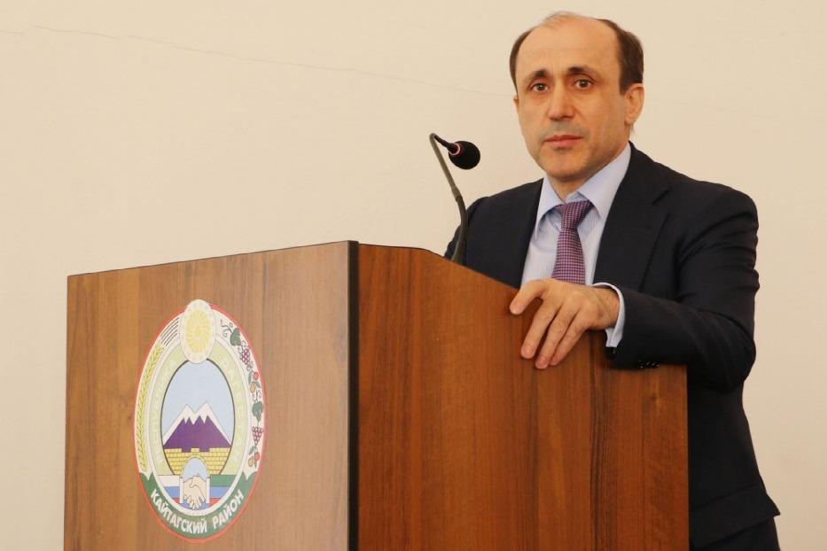 Алим Темирбулатов переизбран главой Кайтагского района