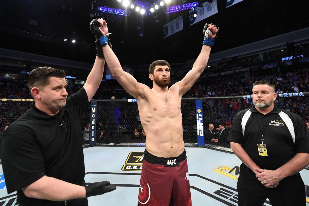 Анкалаев выиграл в UFC четвертый бой подряд (ФОТО, ВИДЕО)