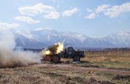 Артиллеристы ЮВО провели боевые стрельбы в горах Дагестана