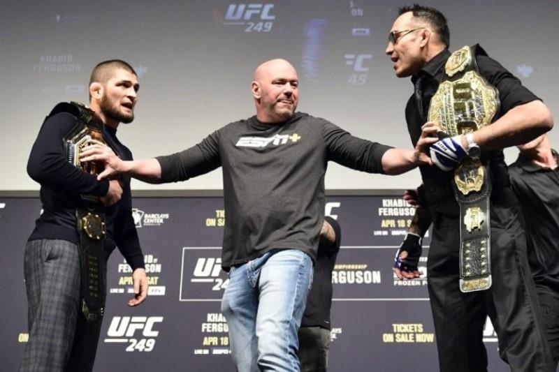 UFC вернет зрителям деньги за билеты на бой Нурмагомедов - Фергюсон
