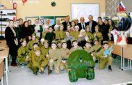 В Мехельтинской средней школе Гумбетовского района прошел день памяти «Дети войны»