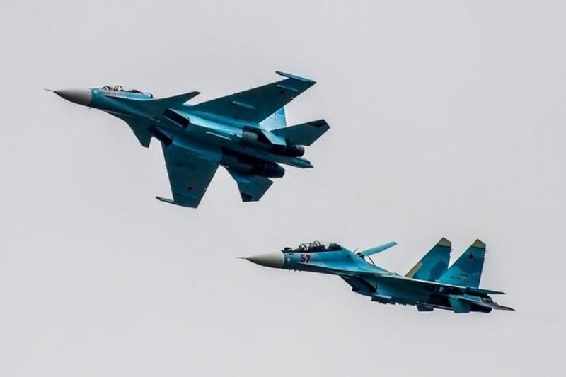 Авиация Каспийской флотилии начала подготовку к параду Победы