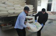 В Буйнакске нуждающимся раздали 400 мешков муки