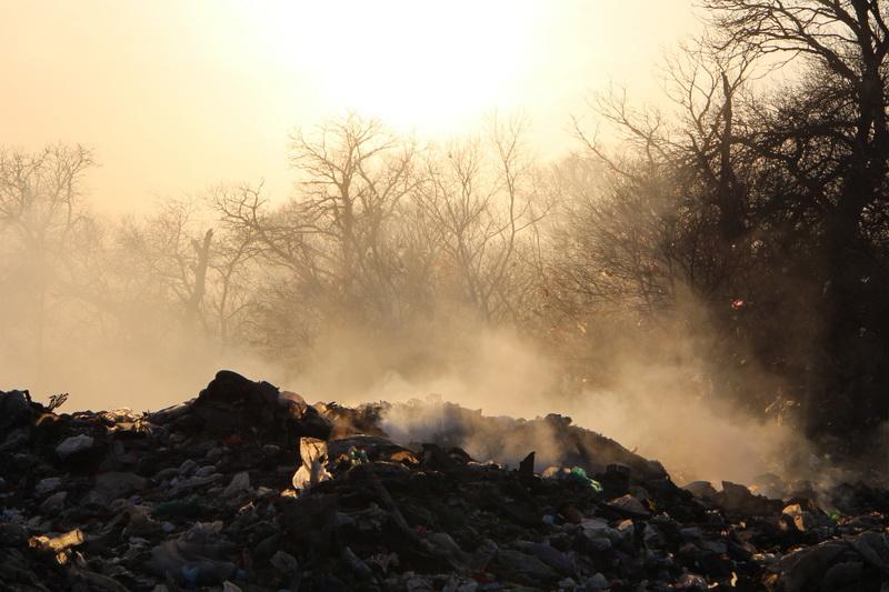 Прокуратура назвала причину пожара на мусорном полигоне в Кизляре
