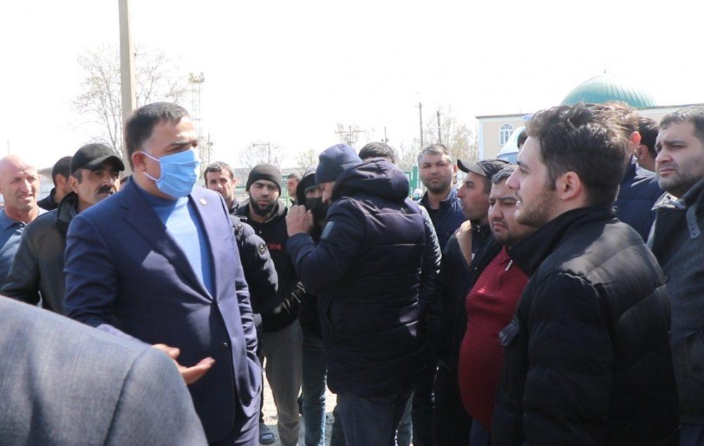 295 азербайджанцев ждут в Магарамкентском районе Дагестана возможности вернуться на родину