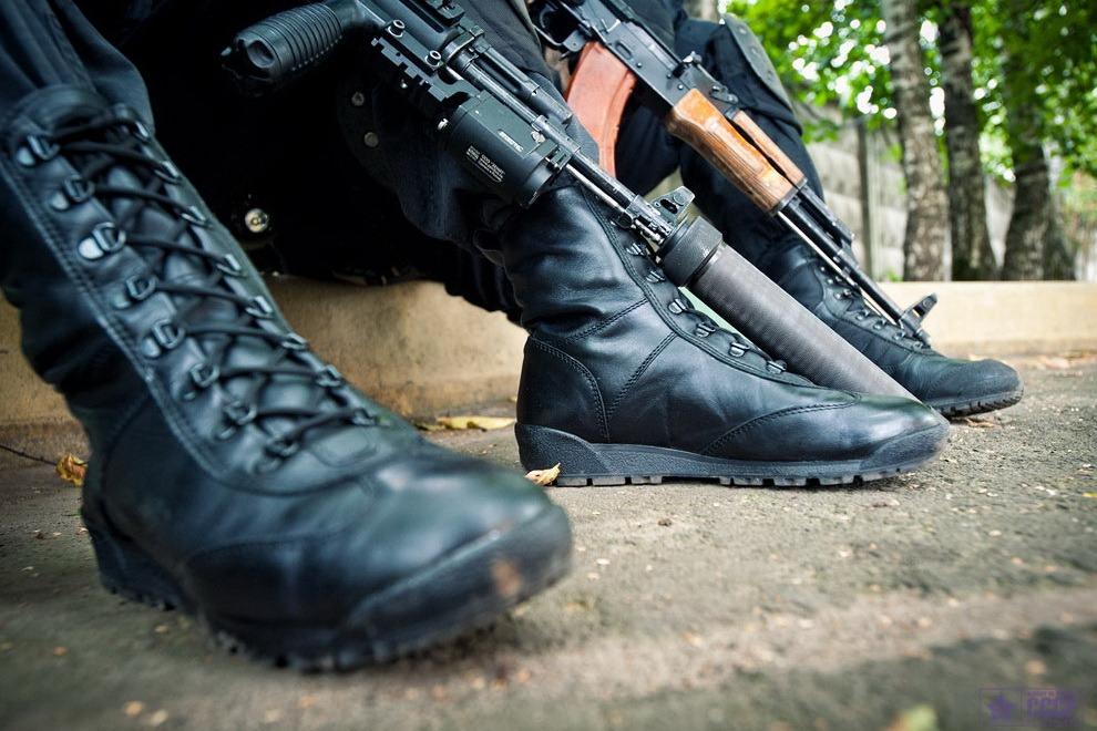 В Табасаранском районе убит неизвестный, открывший огонь по полицейским