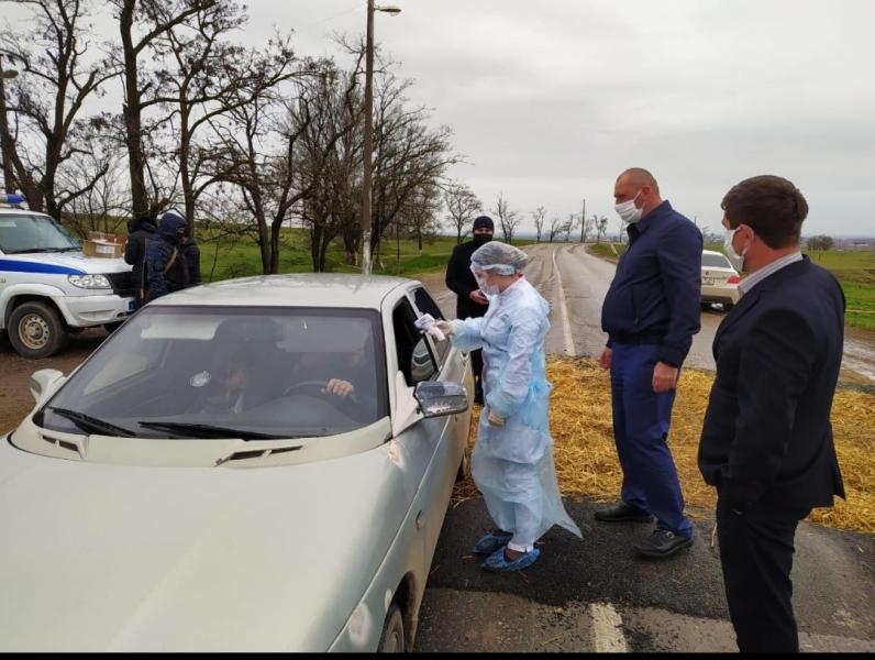 В Новолакском районе прошла акция по профилактике коронавирусной инфекции