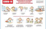Рабочее место школьника на дистанционном обучении: как организовать