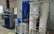 В буйнакской ЦГБ запустили кислородную станцию мощностью 200 литров в минуту