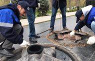 В Махачкале специалисты «Газпрома» привели в порядок мемориалы с Вечным огнем
