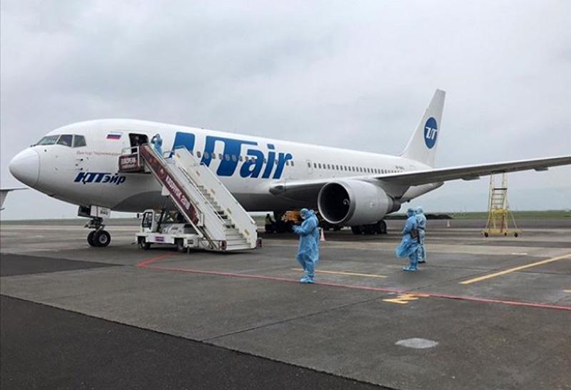 Вывозной рейс из Джидды доставил в Махачкалу 228 граждан России