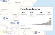 В Дагестане выявлено 103 новых случая заражения коронавирусом