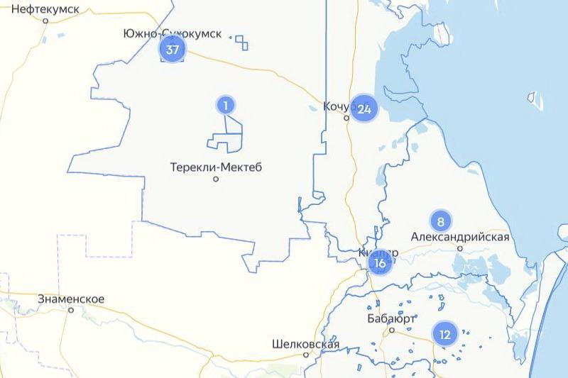 На севере Дагестана сформировалась новая «красная зона» COVID-19