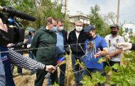 Артем Здунов посетил  сельскохозпредприятия в Каякентском и Карабудахкентском районах