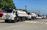 Отряды МЧС России продезинфицировали в Дагестане около 5,5 миллиона квадратных метров