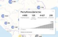 Опять 125. Число новых случаев заражения COVID-19 в Дагестане стабильно с 28 мая