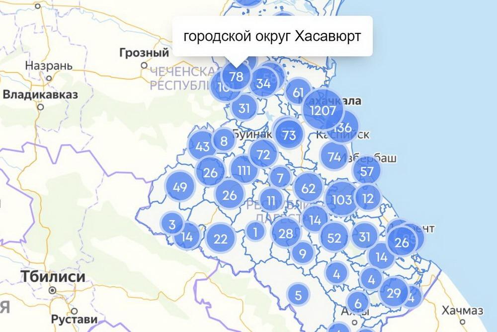 COVID-19 в Дагестане: сводка за 17 мая по городам и районам