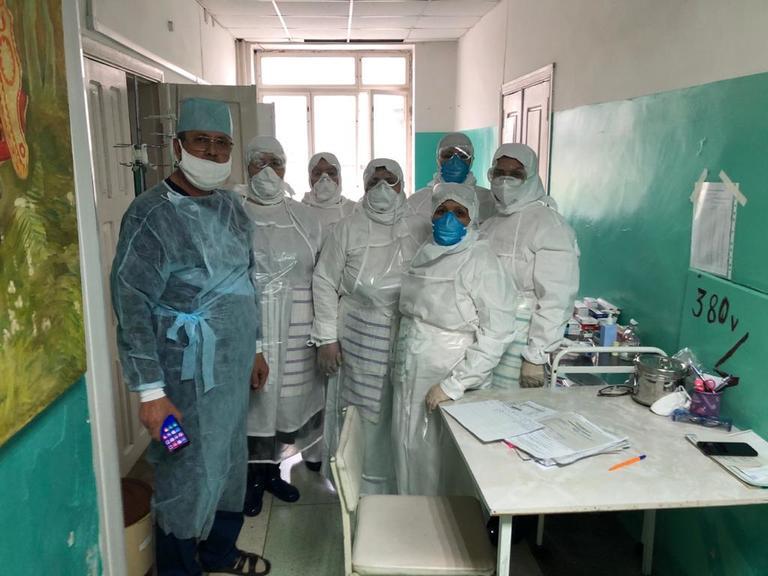 Терапевтическое отделение Новолакской ЦРБ временно перепрофилировано для лечения пациентов с COVID-19