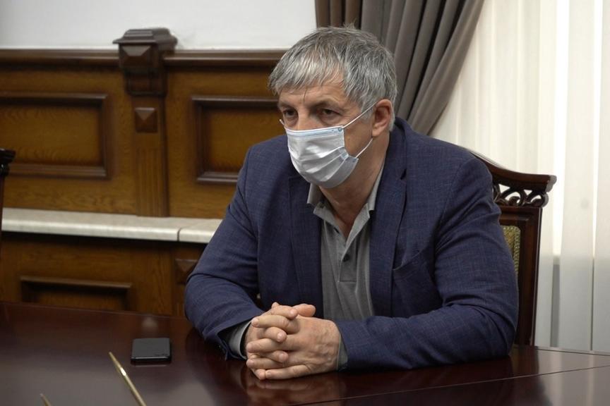 В Дербенте готовится площадка для строительства инфекционного госпиталя по проекту минобороны