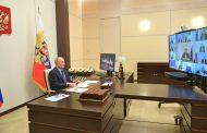 Владимир Путин провел совещание по вопросам реализации мер поддержки экономики и социальной сферы