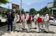 В Дагестане продолжаются масштабные работы по дезинфекции