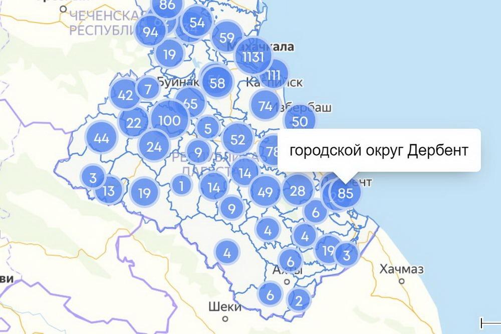COVID-19 в Дагестане: сводка за 13 мая по городам и районам
