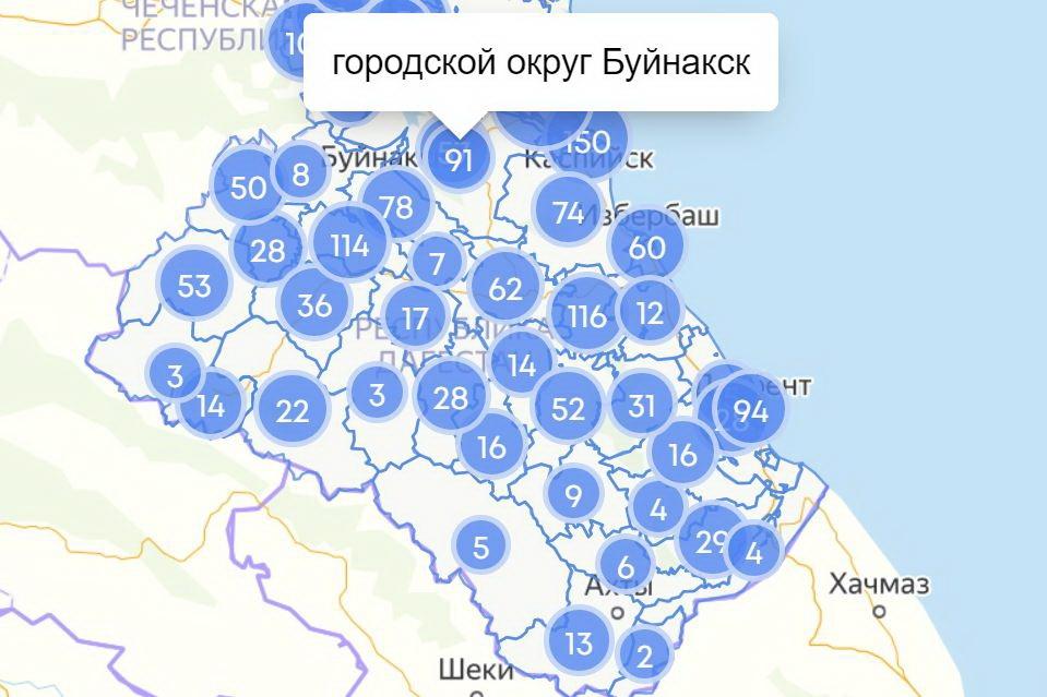 COVID-19 в Дагестане: сводка за 19 мая по городам и районам