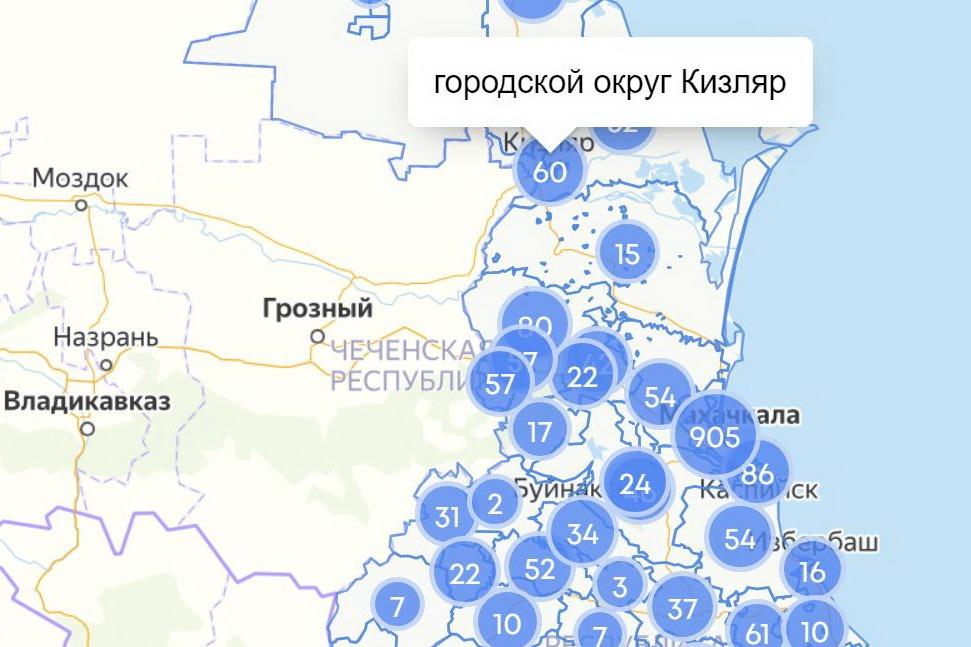 COVID-19 в Дагестане: вспышка в Кизляре, первые заболевшие в Табасаране