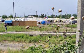 Лагерь у дороги
