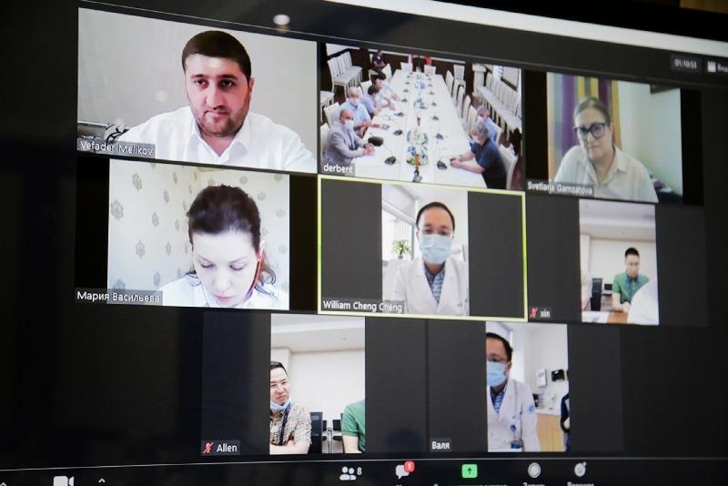 Дербентские и китайские врачи обсудили диагностику и лечение коронавируса