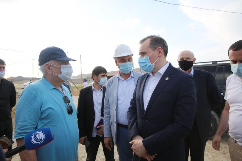 Артем Здунов посетил Каякентский район