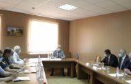 Глава Дагестана обсудил с делегацией Азербайджана беспорядки в Дербентском районе