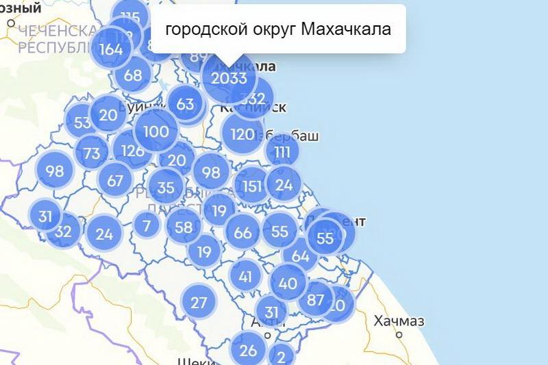 COVID-19 в Дагестане: в Махачкале заразилось уже более 2000 человек