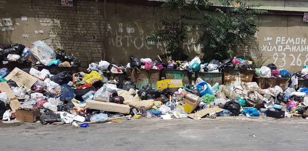 Управляющая компания «Лидер» начала вывоз мусора в Каспийске